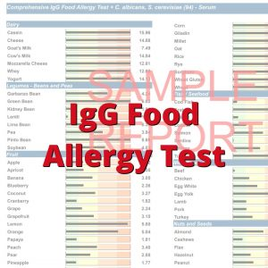 IgG Food Test
